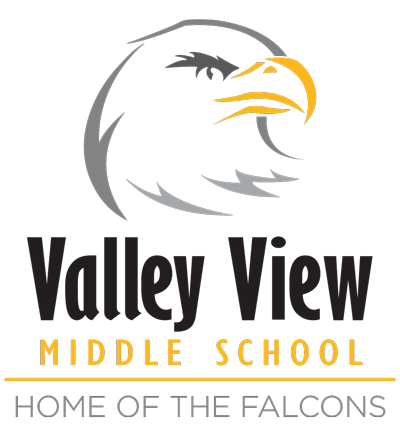 Valley View Middle School Falcons logo