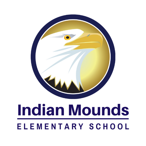 Indian Mounds Elementary School Eagle logo