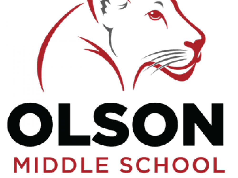 Olson Middle School Cougar logo