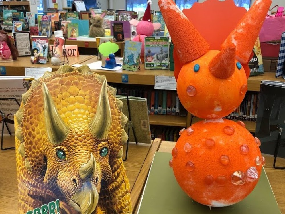 Triceratops Snowman Project