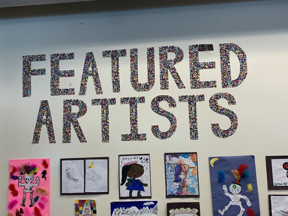 Our talented students are featured each month.