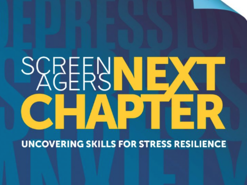 Logo for Screenagers NEXT CHAPTER