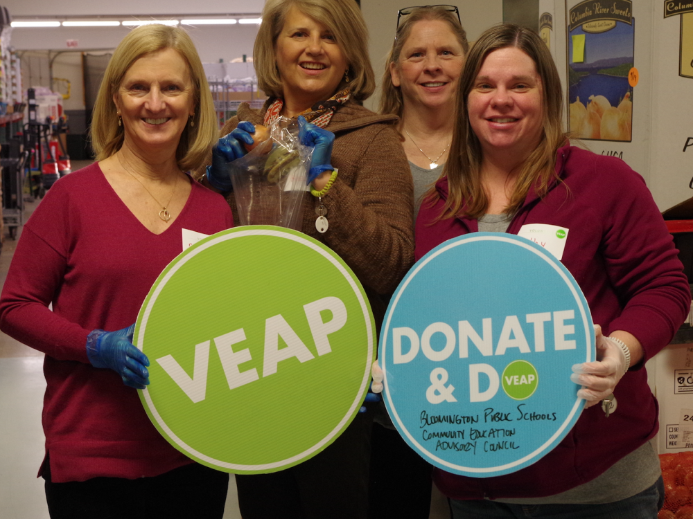 CEAC Members volunteer at VEAP