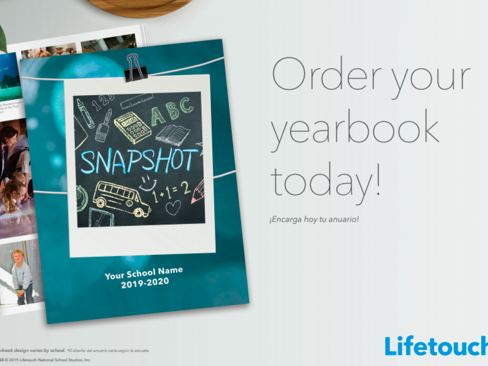 Purchase your yearbook today