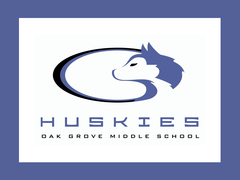 Oak Grove Middle School Huskies logo
