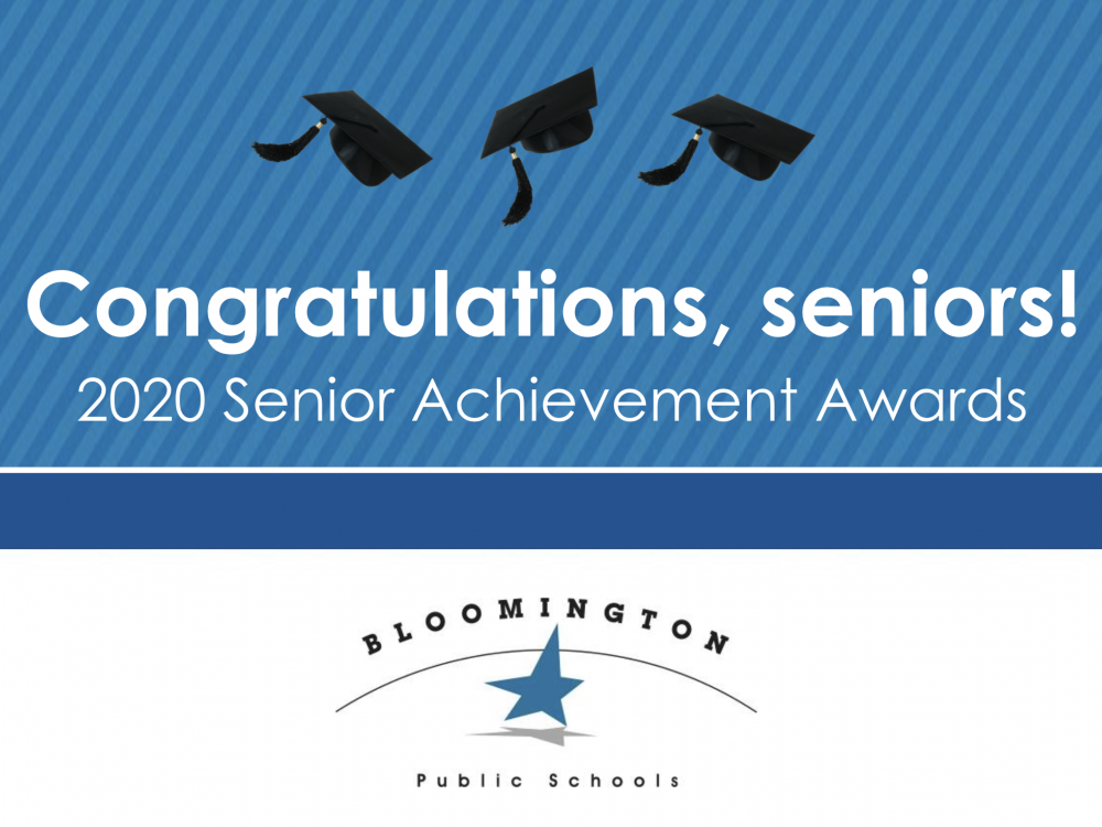 Congratulations, seniors! 2020 Senior Achievement Awards