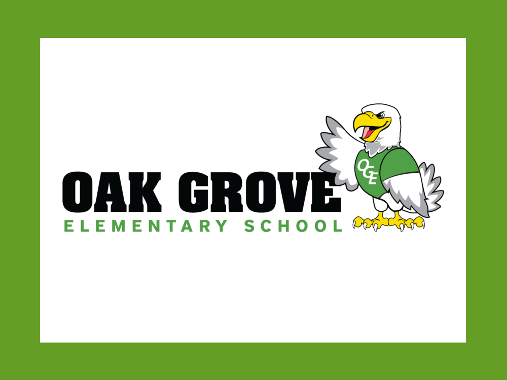 Oak Grove Elementary School Eagles logo