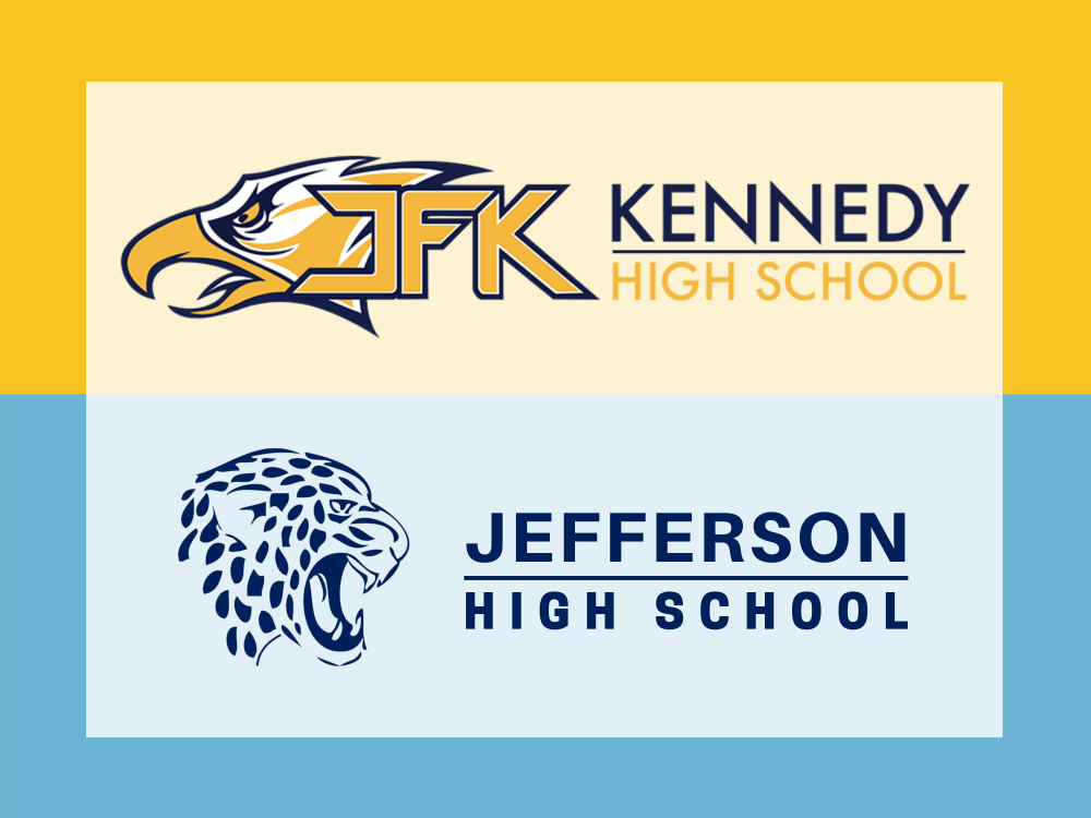 Jefferson, Kennedy logos