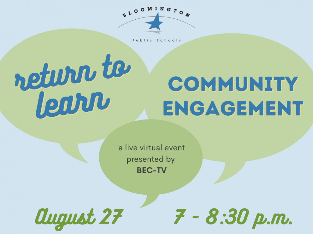 Return to Learn Community Engagement Event - August 27