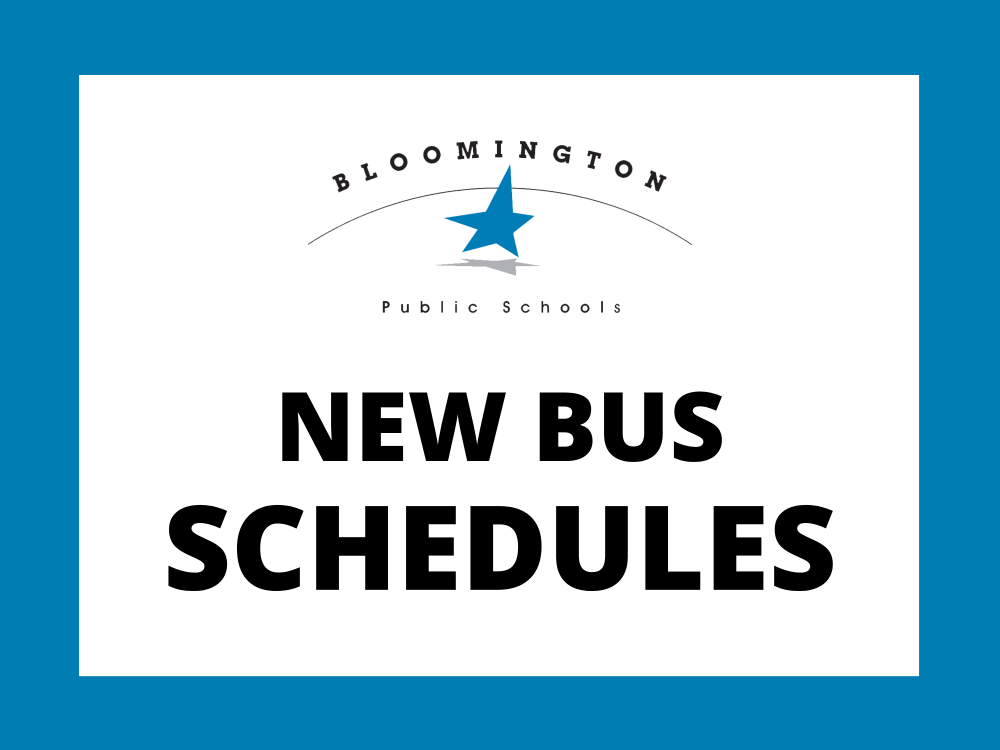 New Bus Schedules