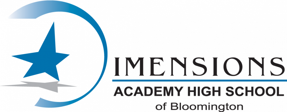 Dimensions Academy High School Logo