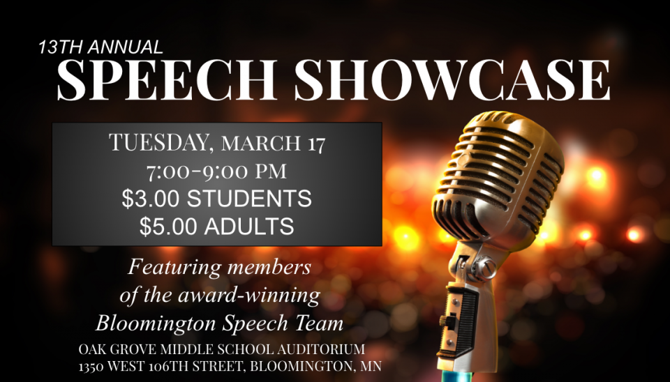 Speech Showcase 2020